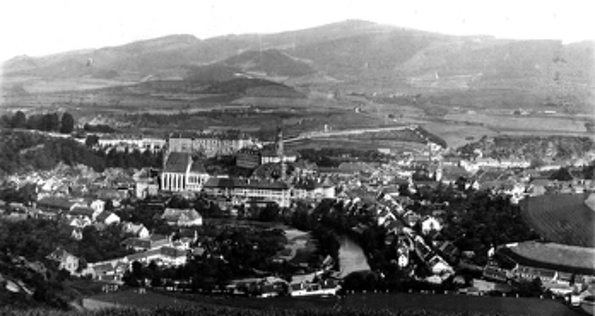 Český Krumlov 1902-ben